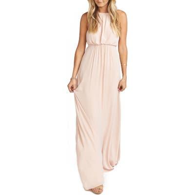 Show Me Your Mumu Amanda Blouson Gown