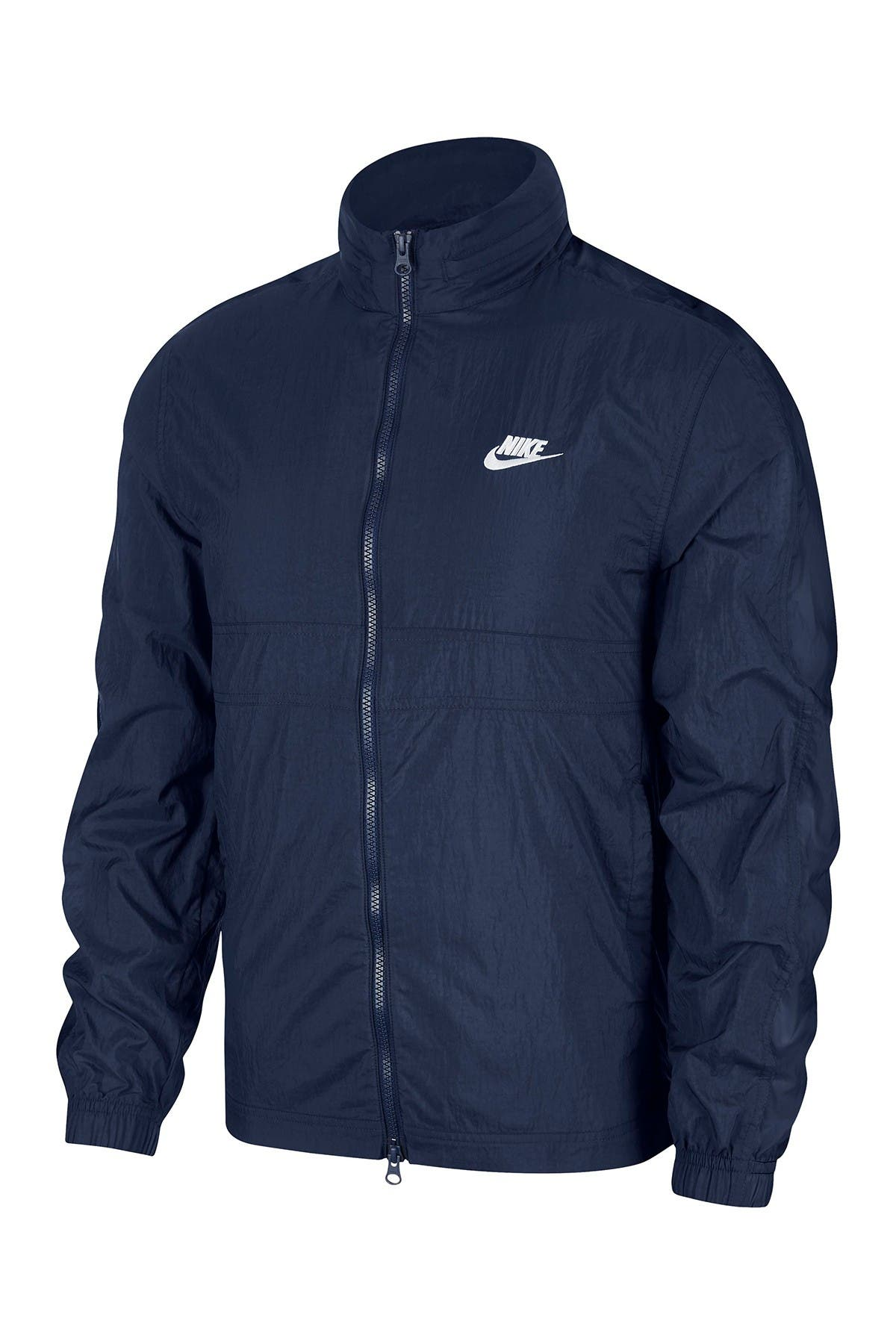 Image of Nike Zip Front Track Jacket