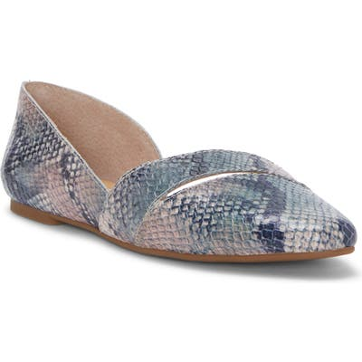Lucky Brand Ashena Skimmer Flat- Purple