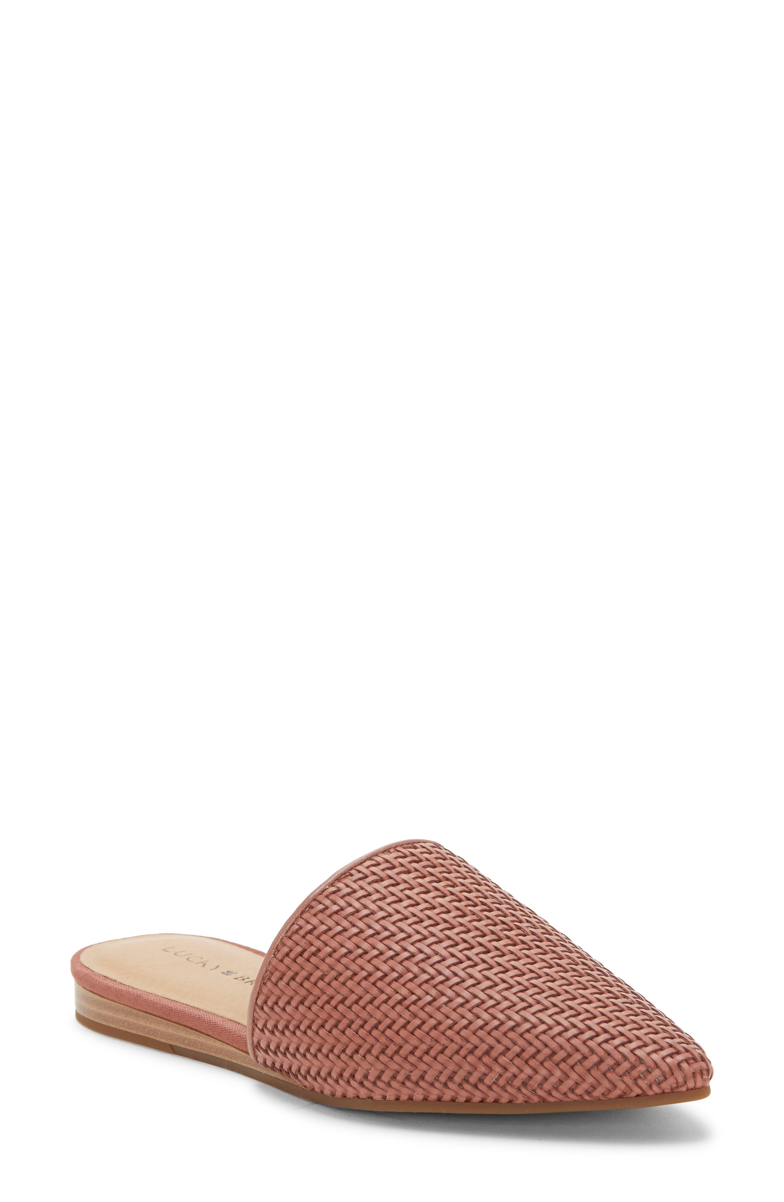 Lucky Brand Bradell Pointy Toe Mule, Pink