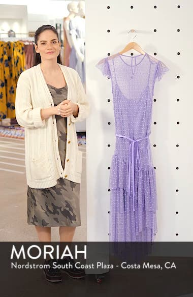 Dotted Mesh Dress, sales video thumbnail