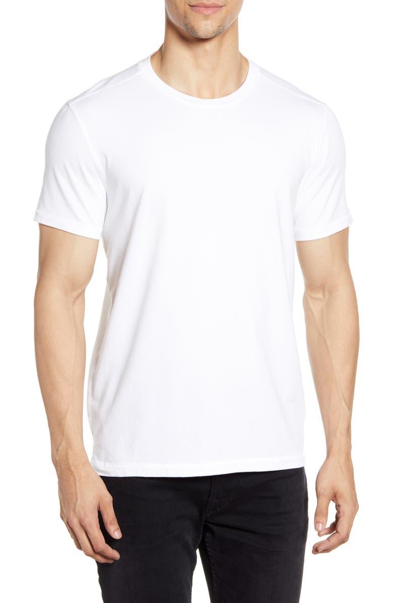 JOHN VARVATOS STAR USA Grant T-Shirt, Main, color, WHITE