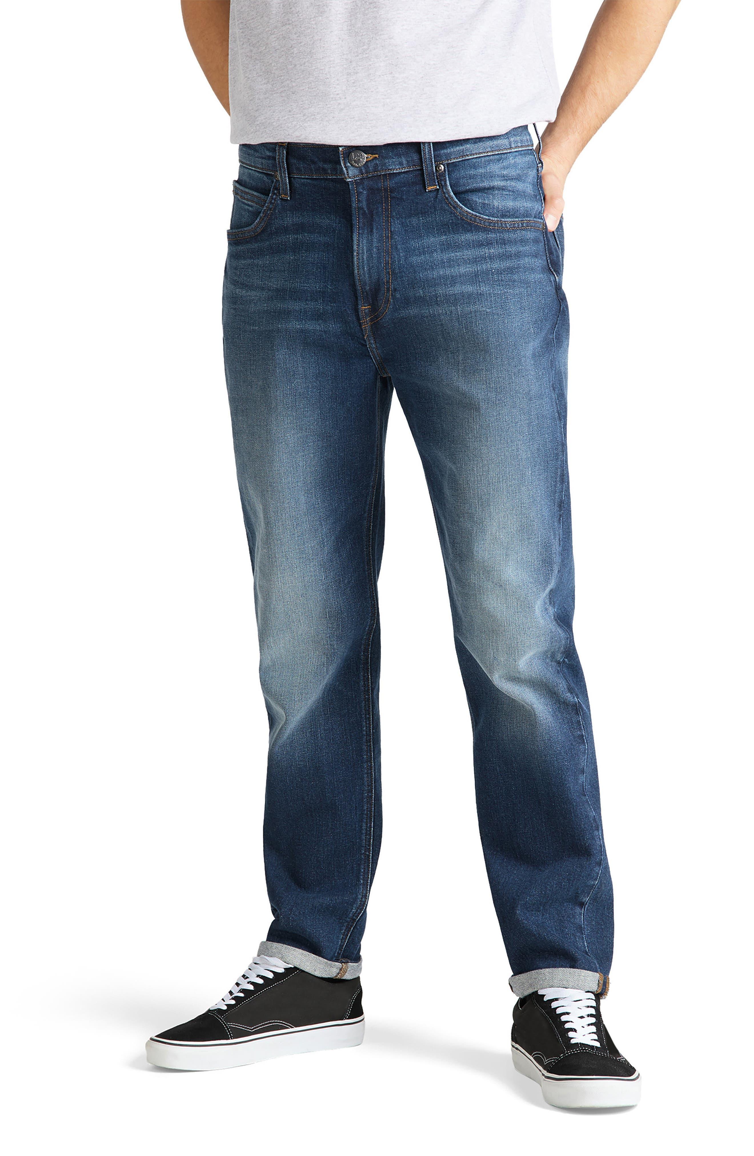 Men's Lee Modern Austin Regular Fit Tapered Jeans