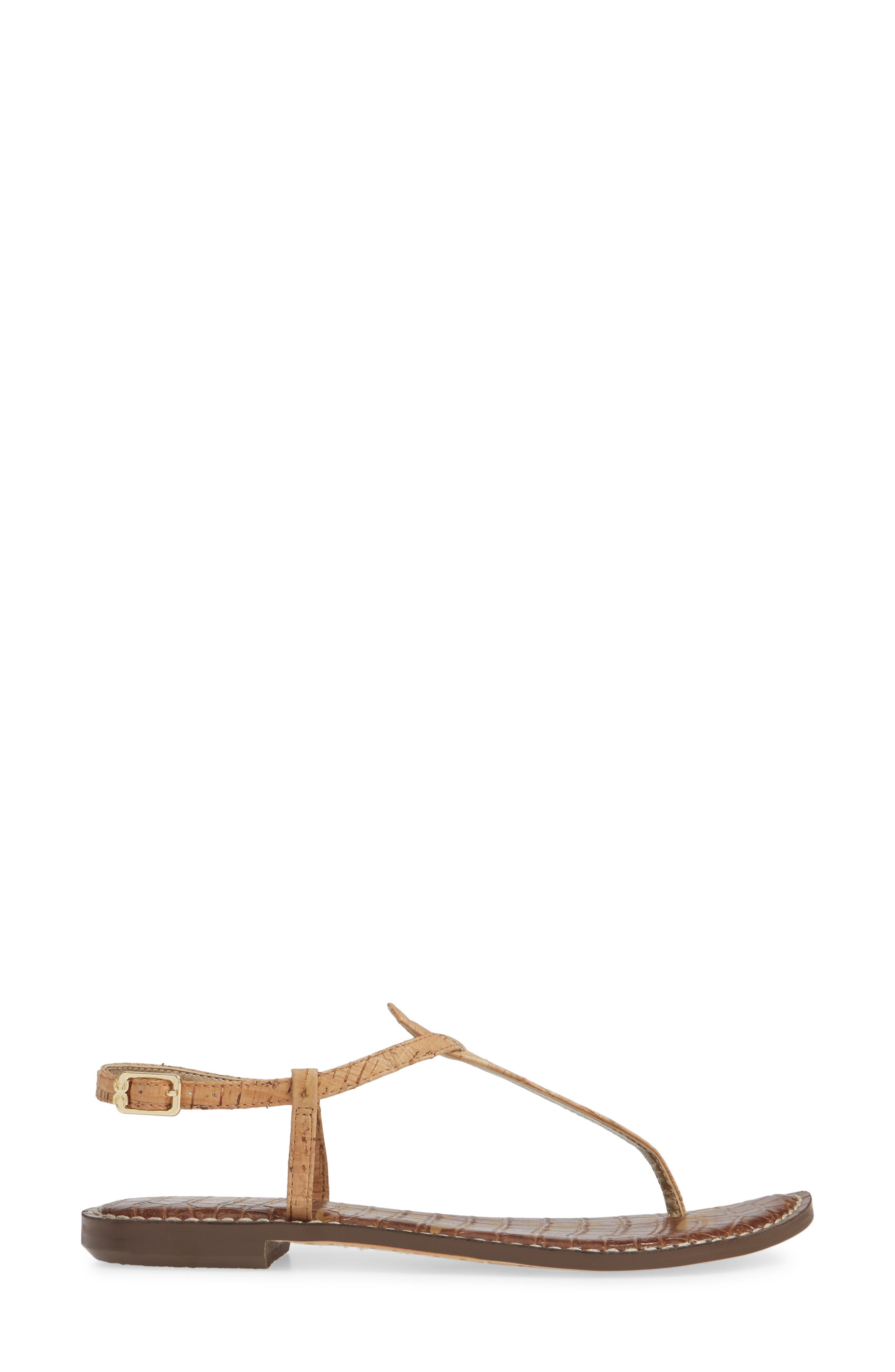 ,                             Gigi Sandal,                             Alternate thumbnail 4, color,                             NATURAL CORK