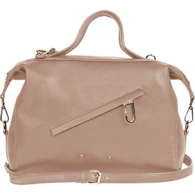 Urban Originals Chasing Rainbows Vegan Leather Satchel - Beige
