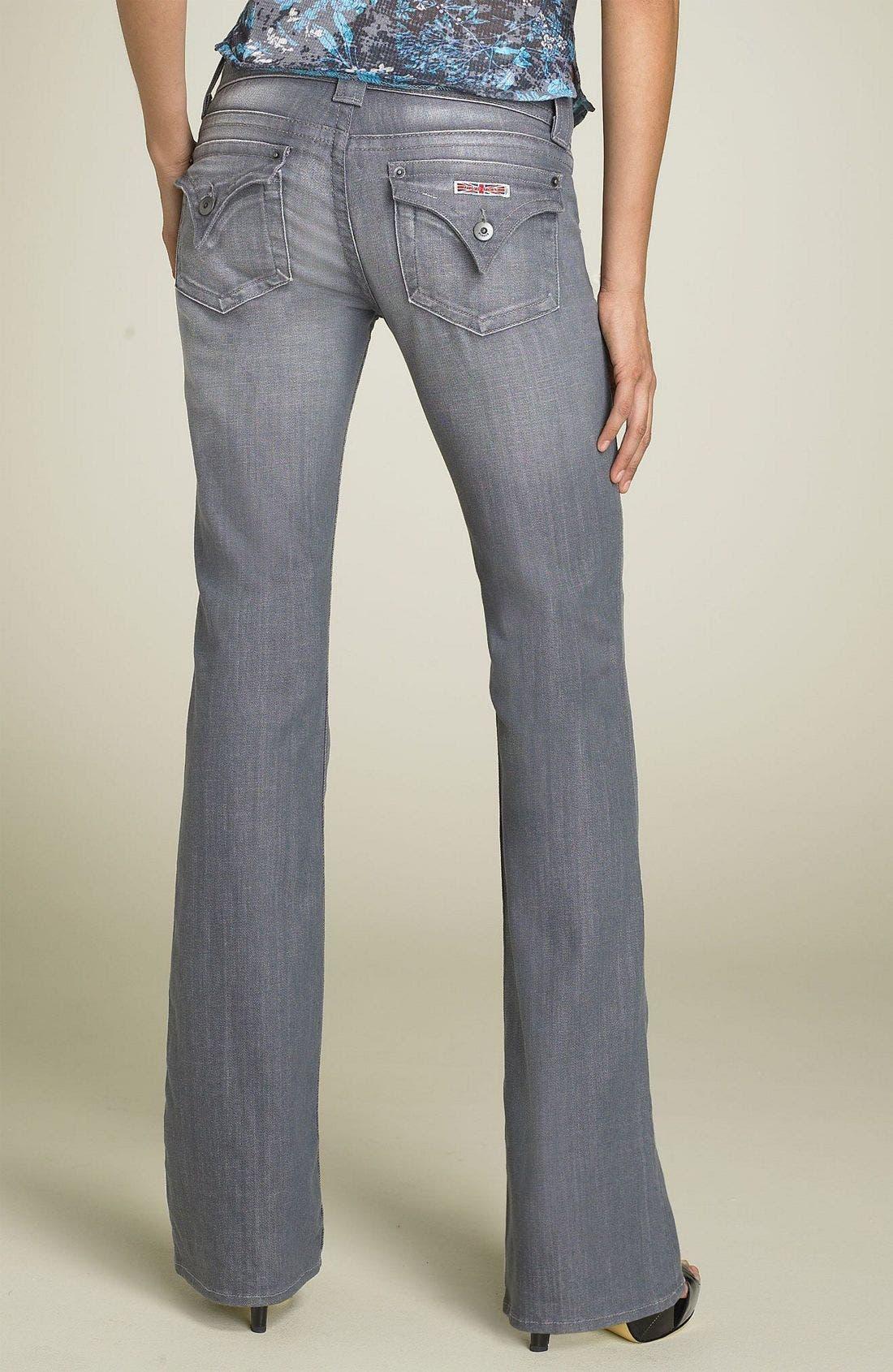 ,                             Signature Flap Pocket Bootcut Jeans,                             Alternate thumbnail 17, color,                             032