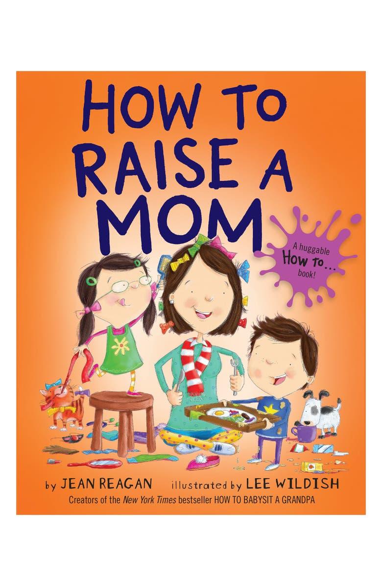 PENGUIN RANDOM HOUSE 'How to Raise a Mom' Book, Main, color, ORANGE