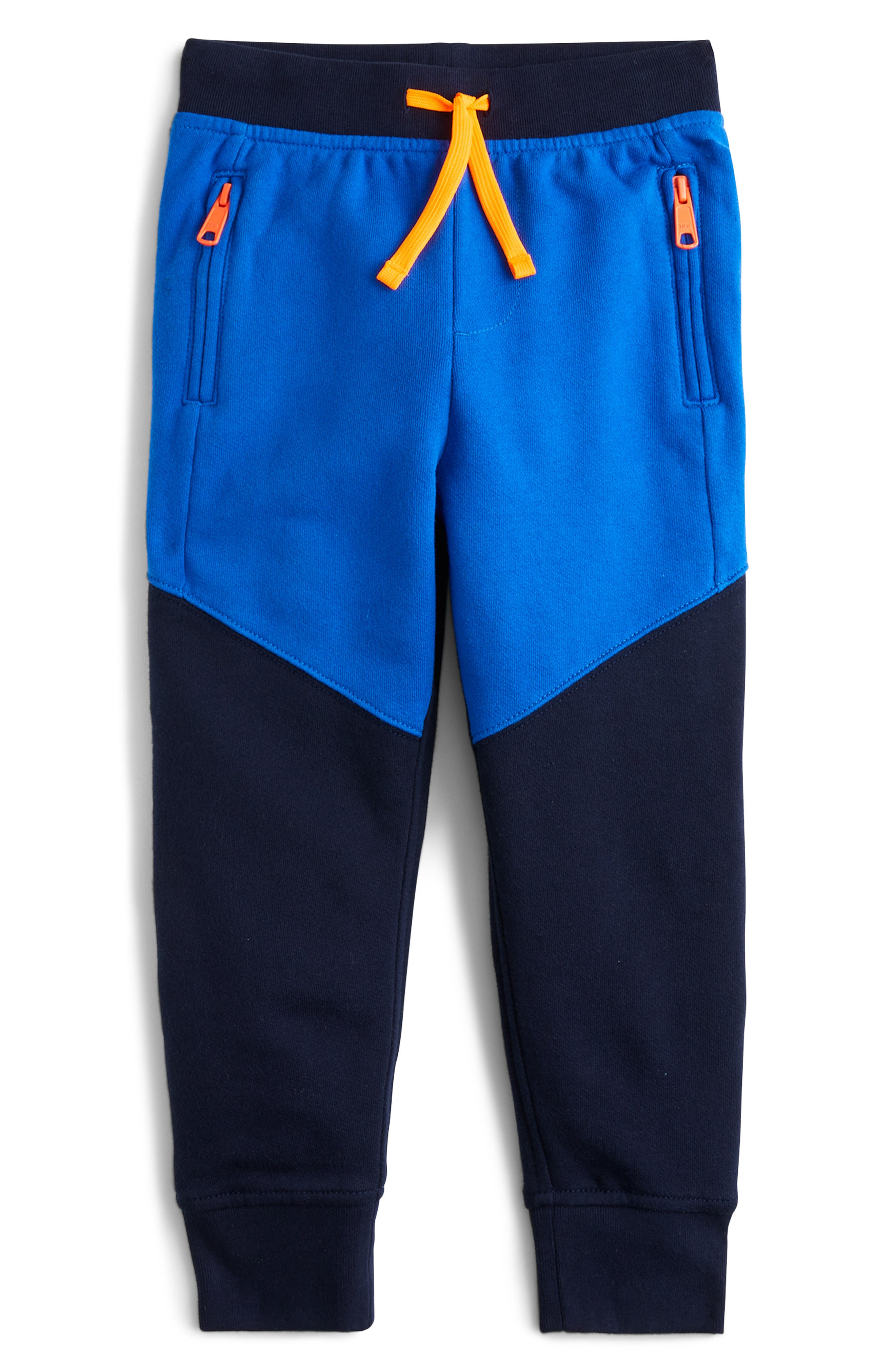 Boys Crewcuts By Jcrew Colorblock Sweatpants Size 16  Blue