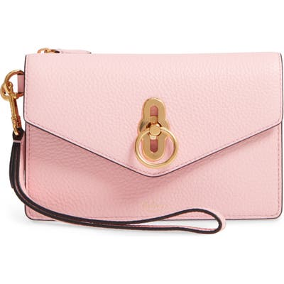 Mulberry Amberley Iphone Leather Clutch - Pink