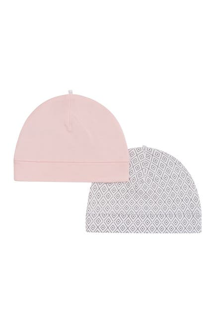 Image of Petit Lem Organic Baby Hats - Pack of 2