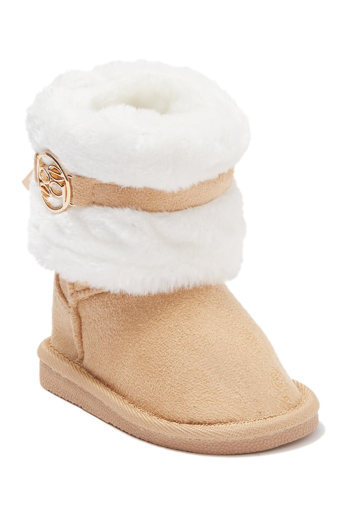 Image of bebe Faux Fur Trimmed Winter Boot