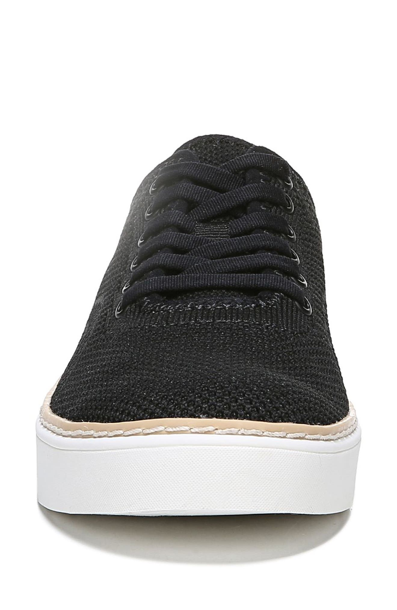 ,                             Madi Sneaker,                             Alternate thumbnail 4, color,                             BLACK FABRIC