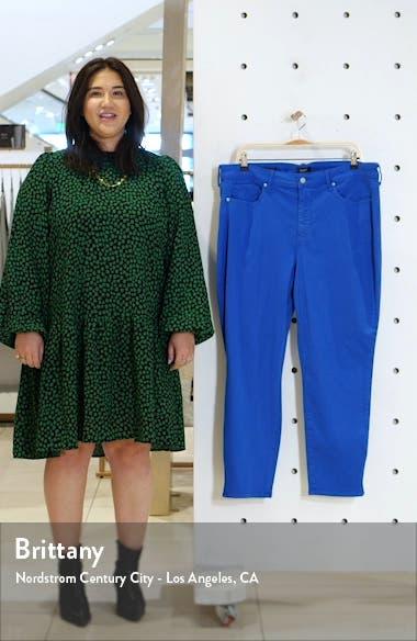 Alina High Waist Side Slit Ankle Skinny Jeans, sales video thumbnail