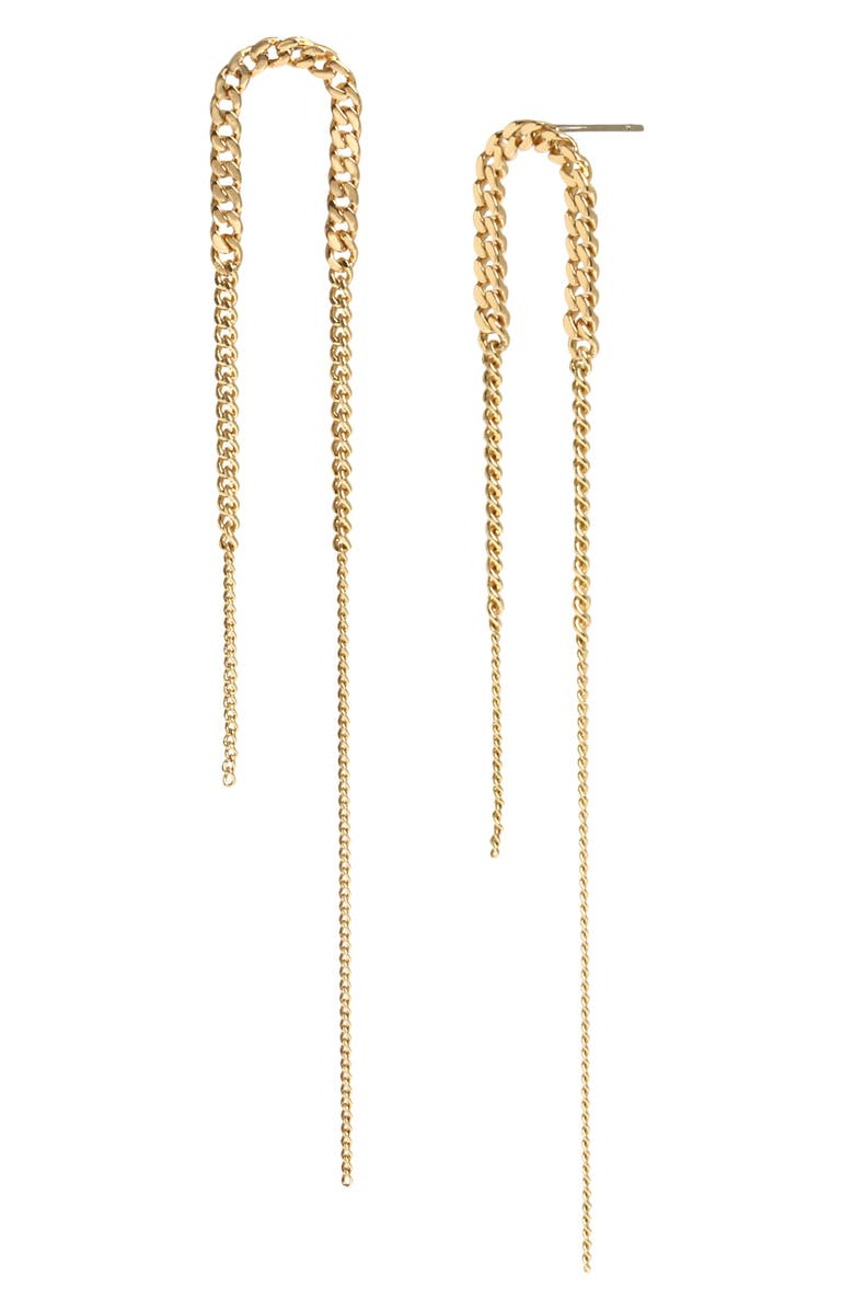 ALLSAINTS Delicate Drop Earrings, Main, color, GOLD