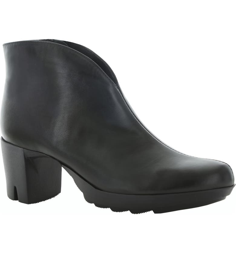 MUNRO Robynette Bootie, Main, color, BLACK LEATHER