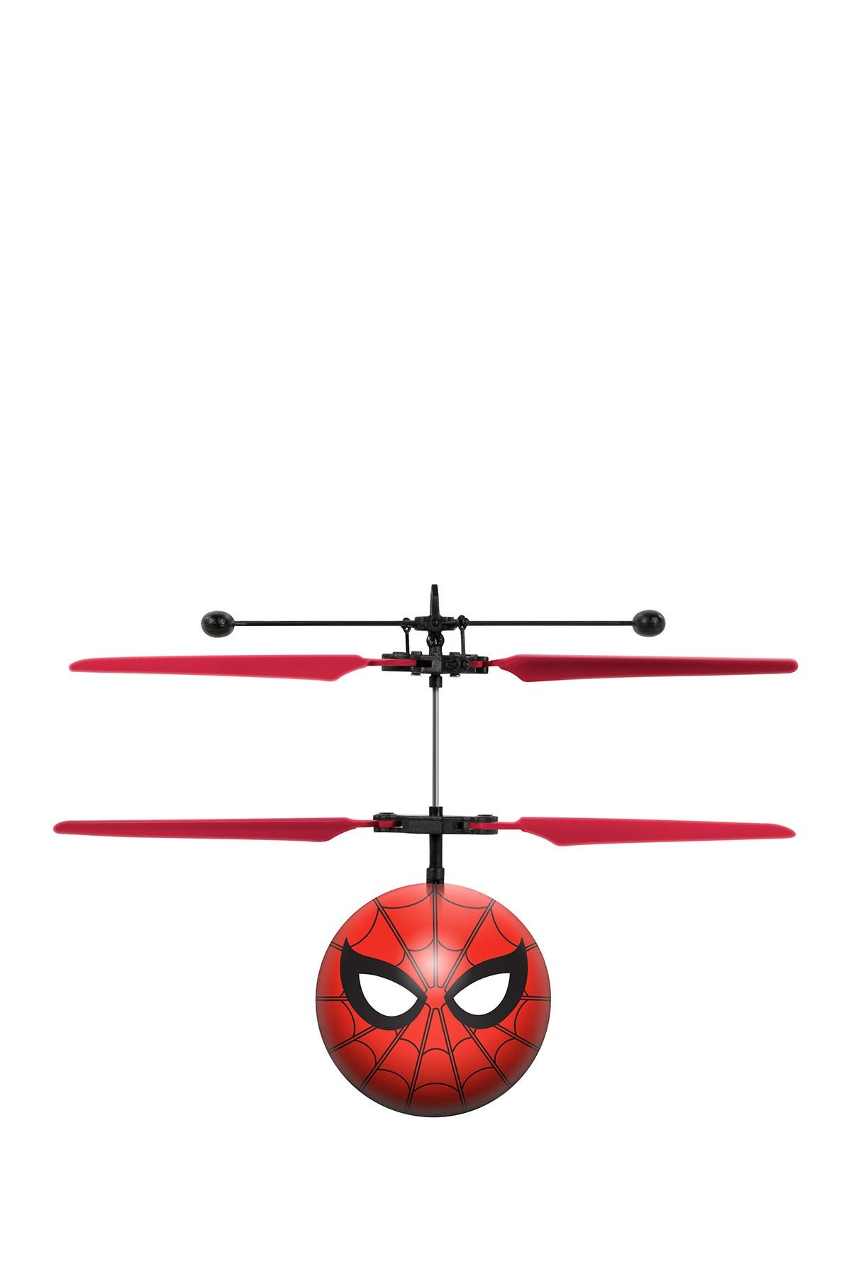 Image of World Tech Toys Marvel Spider-Man Animated IR UFO Ball Helicopter