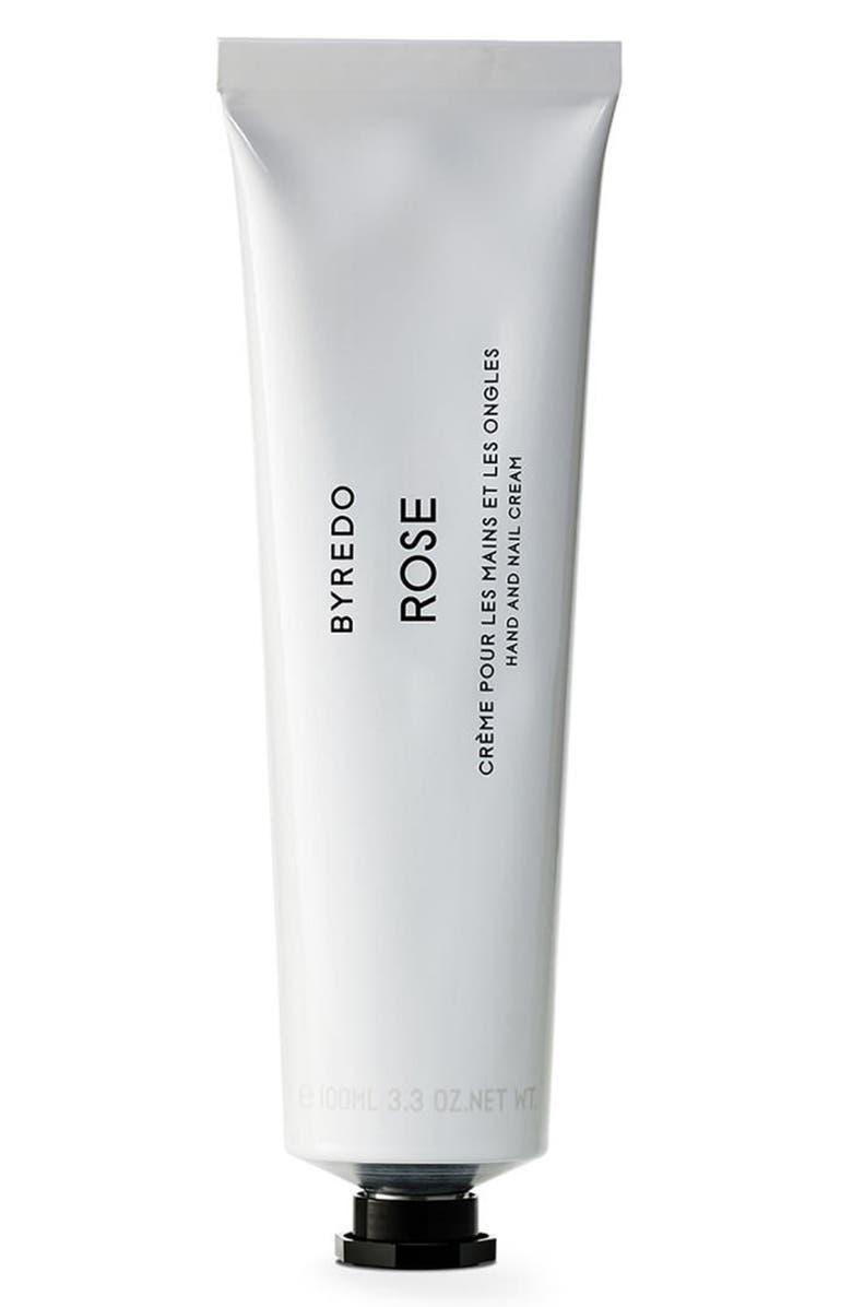 BYREDO Rose Hand Cream, Main, color, NO COLOR