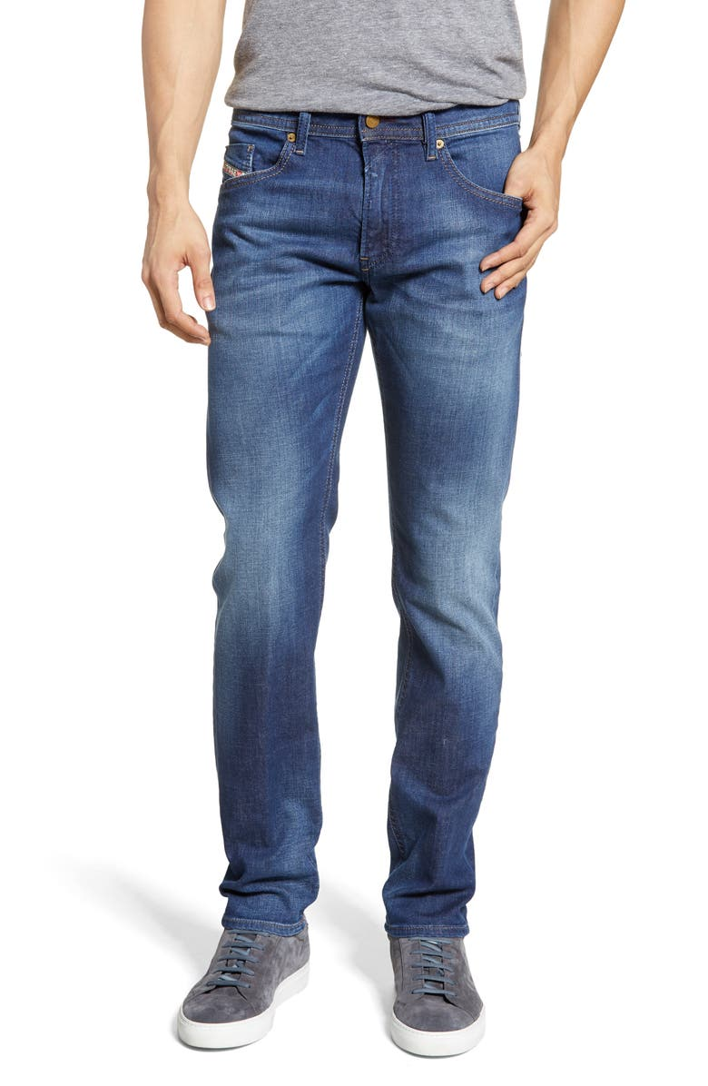 DIESEL<SUP>®</SUP> Thommer Slim Fit Jeans, Main, color, 400