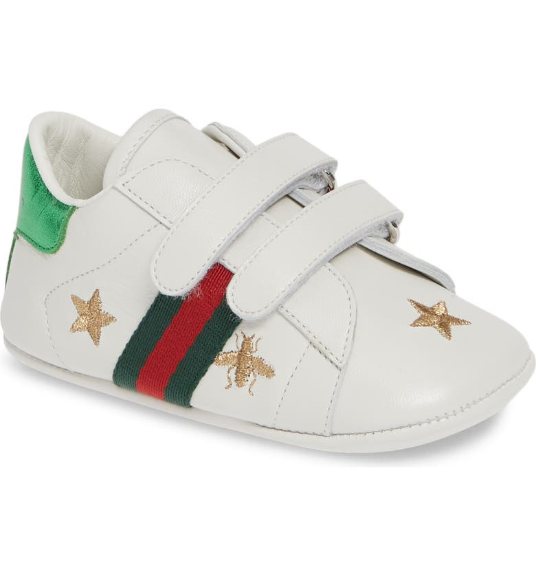 GUCCI New Ace Crib Shoe, Main, color, 131