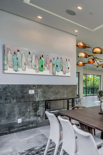 Image of Marmont Hill Inc. Wine Party III Wall Art