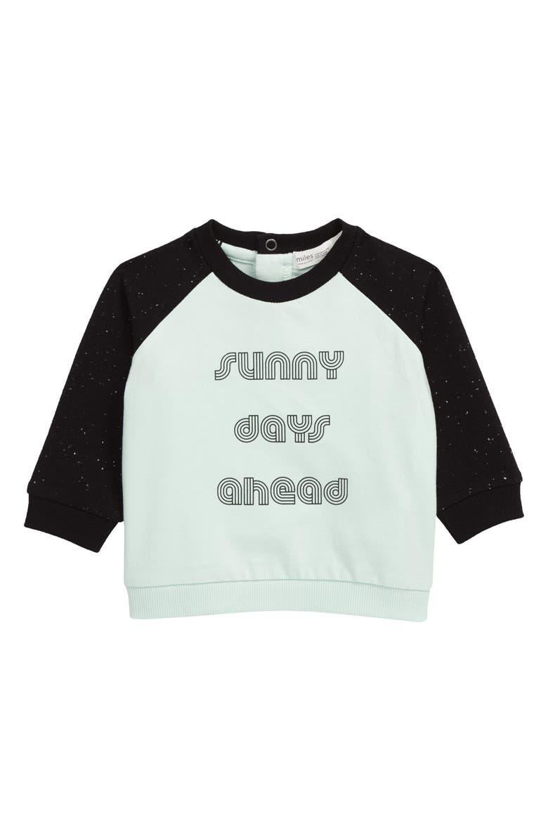 MILES baby Graphic Sweatshirt, Main, color, 400