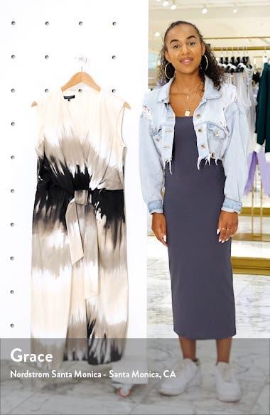 Orielle Tie Dye Midi Dress, sales video thumbnail