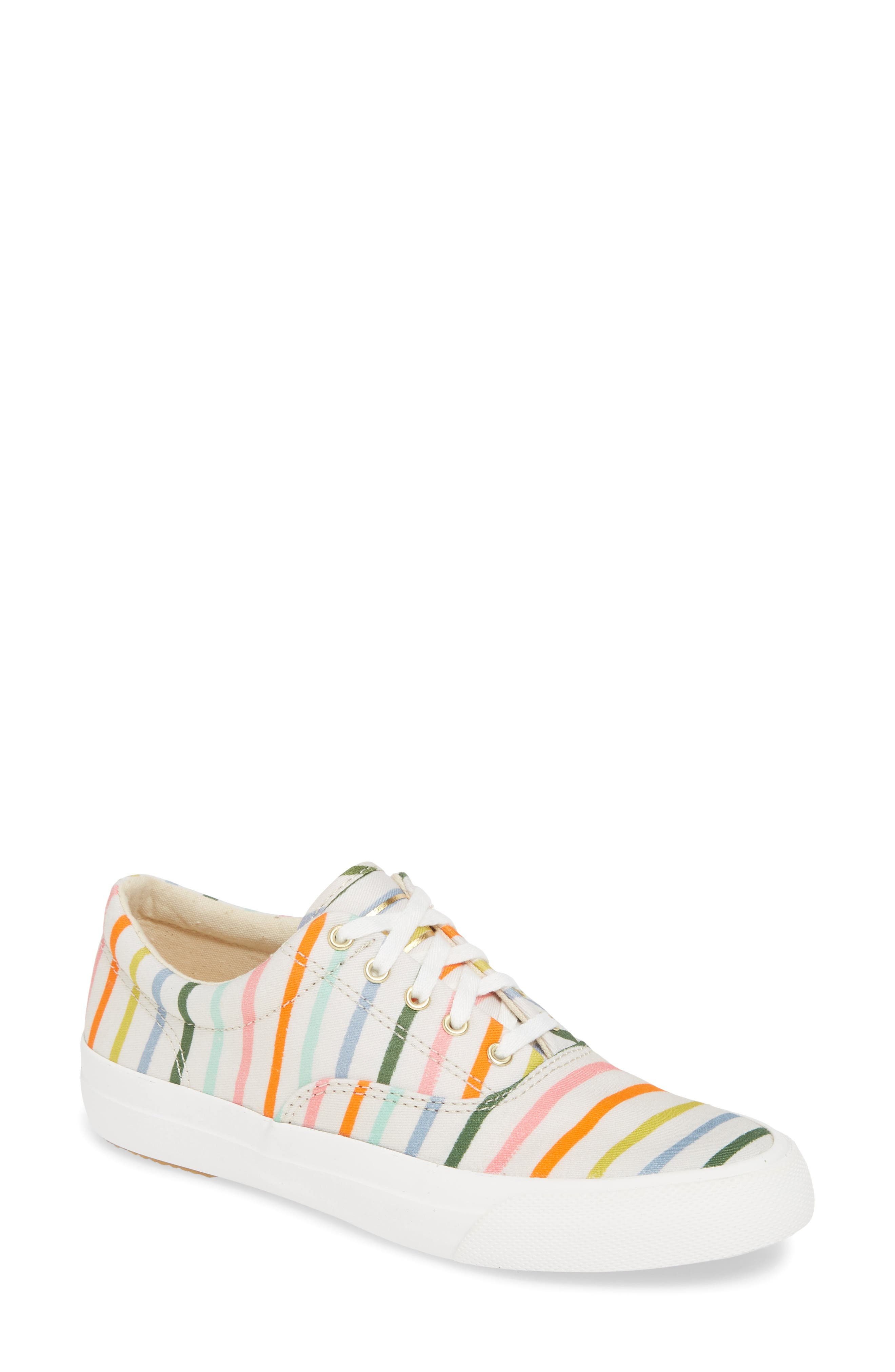 Keds X Rifle Paper Co. Anchor Sneaker, White
