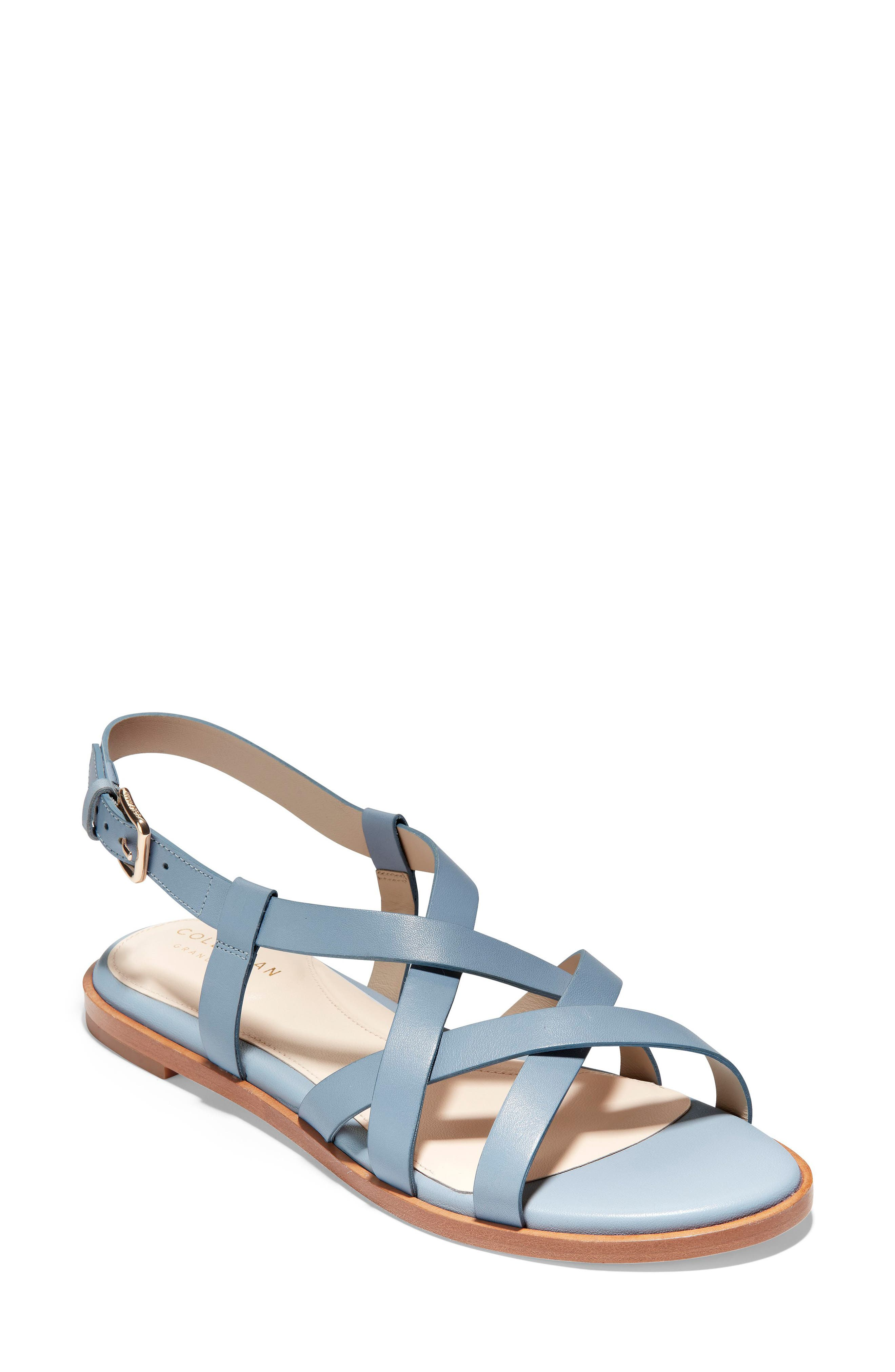 Cole Haan Analeigh Strappy Sandal B - Blue