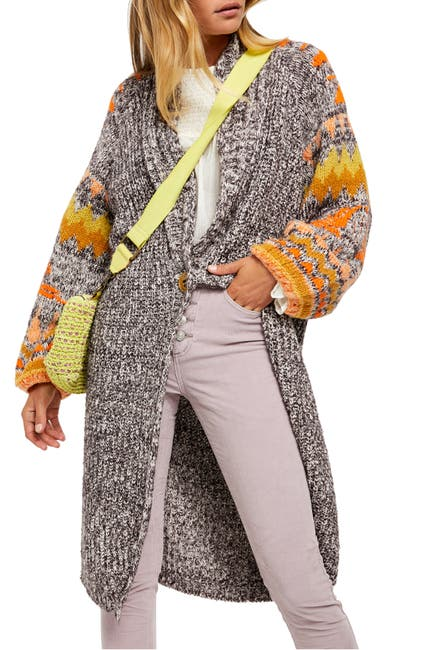 Image of Free People Birds of a Feather Long Cardigan