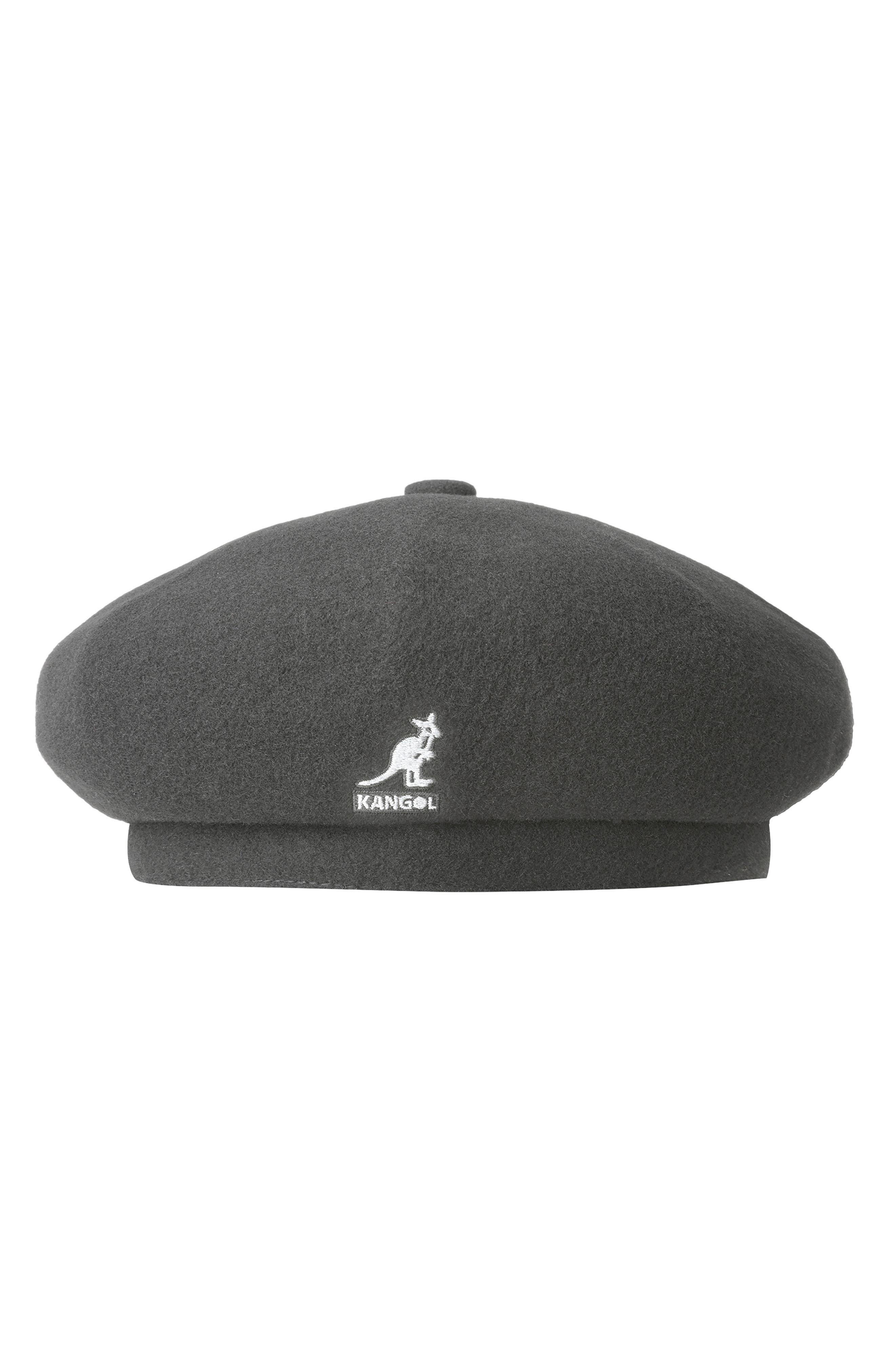 Always a stylish accessory, this wool-blend beret adds warmth as well as a certain panache. Style Name: Kangol Jax Beret. Style Number: 5738293 1. Available in stores.