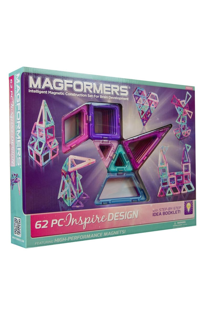 MAGFORMERS 'Inspire Design' Construction Set, Main, color, MULTI