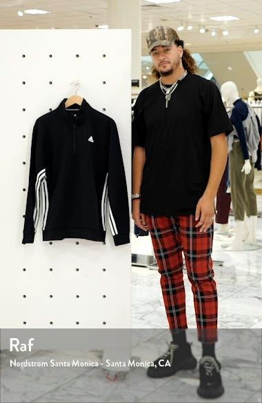3-Stripes Double Knit Crewneck Sweatshirt, sales video thumbnail