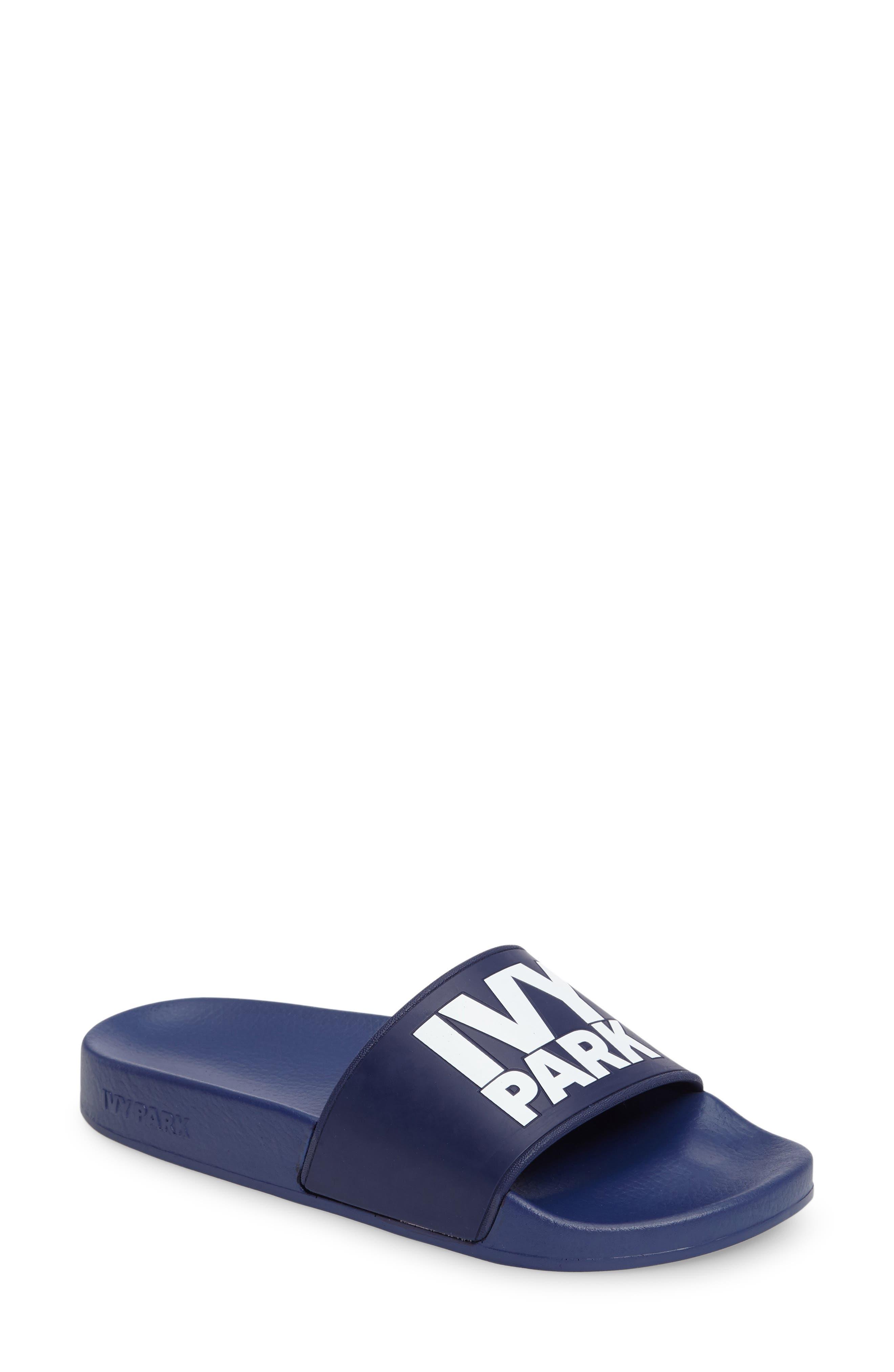 ,                             Logo Slide Sandal,                             Main thumbnail 16, color,                             402