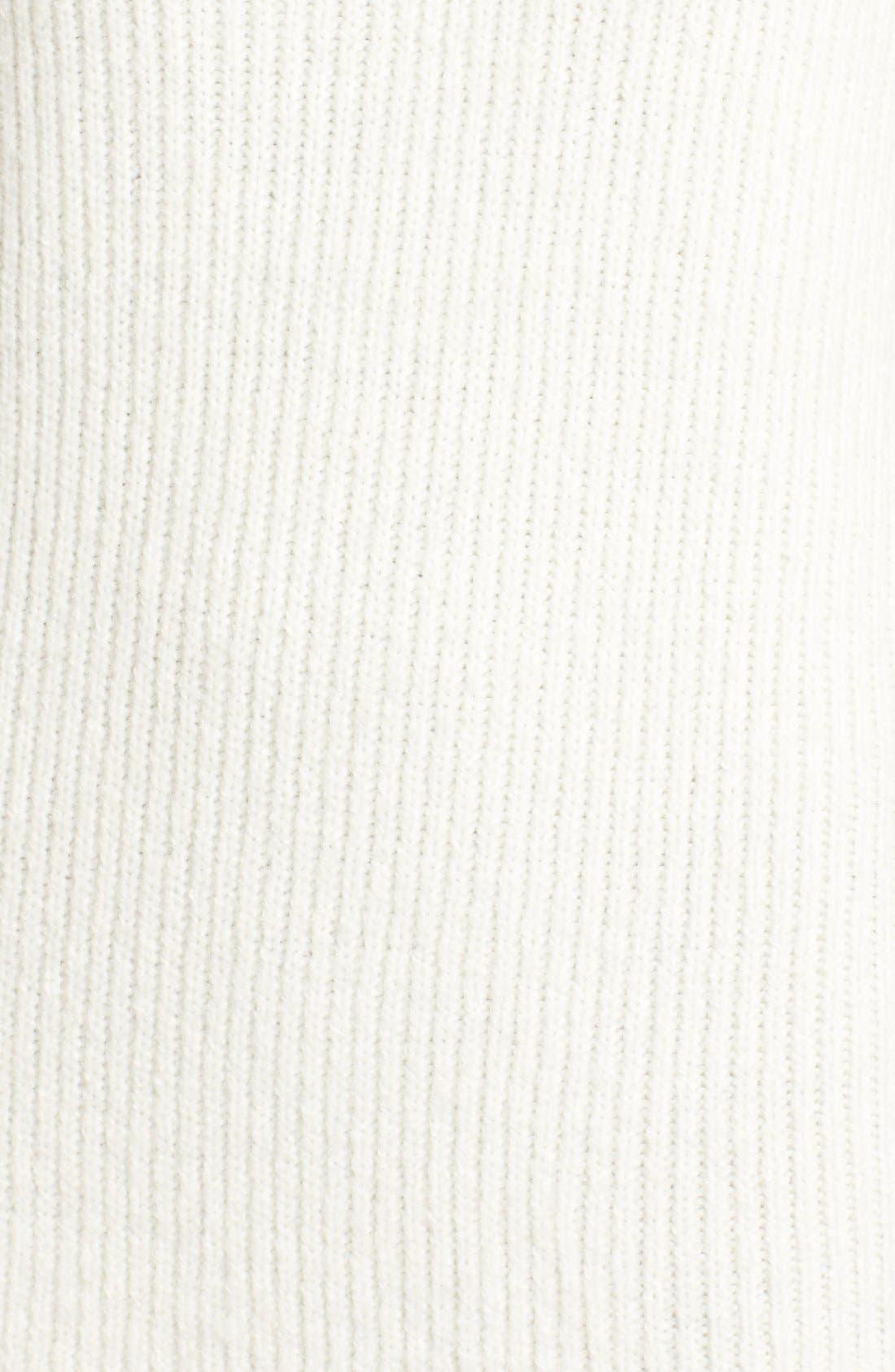,                             V-Neck Sweater Minidress,                             Alternate thumbnail 9, color,                             900