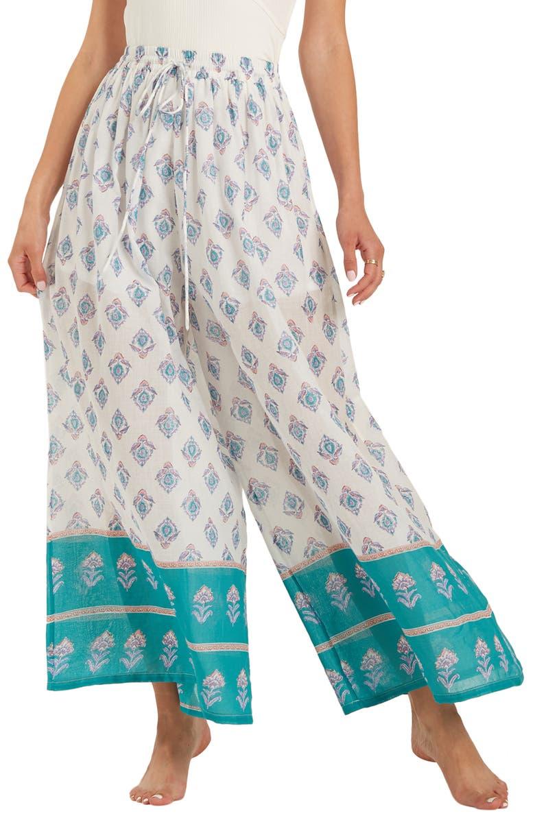 BILLABONG Back In Five Wide Leg Pants, Main, color, 190