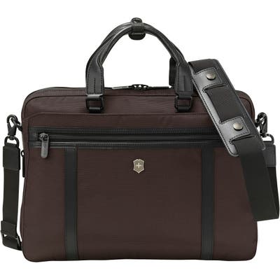 Victorinox Swiss Army Werks Pro 2.0 Laptop Briefcase - Brown