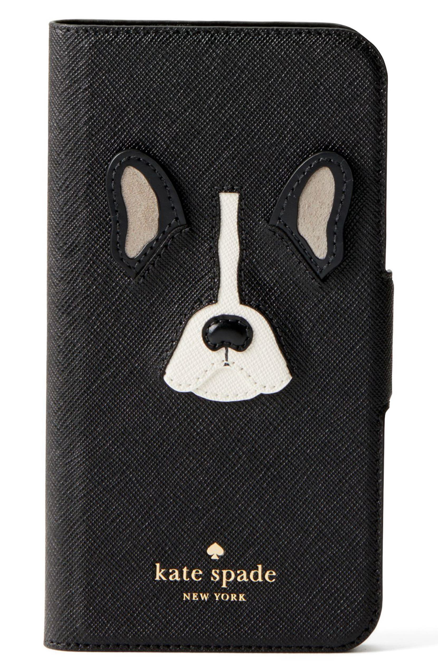 sale retailer 0ea72 60ce8 antoine appliqué leather iPhone X/Xs folio case