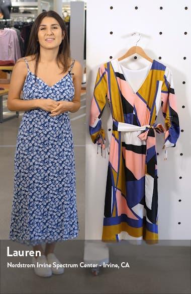 Geo Print French Twill Dress, sales video thumbnail