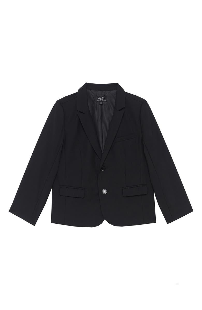 BARDOT Oscar Suit Jacket, Main, color, BLACK