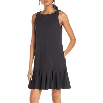 Tommy Bahama Flounce Hem Tank Dress, Black
