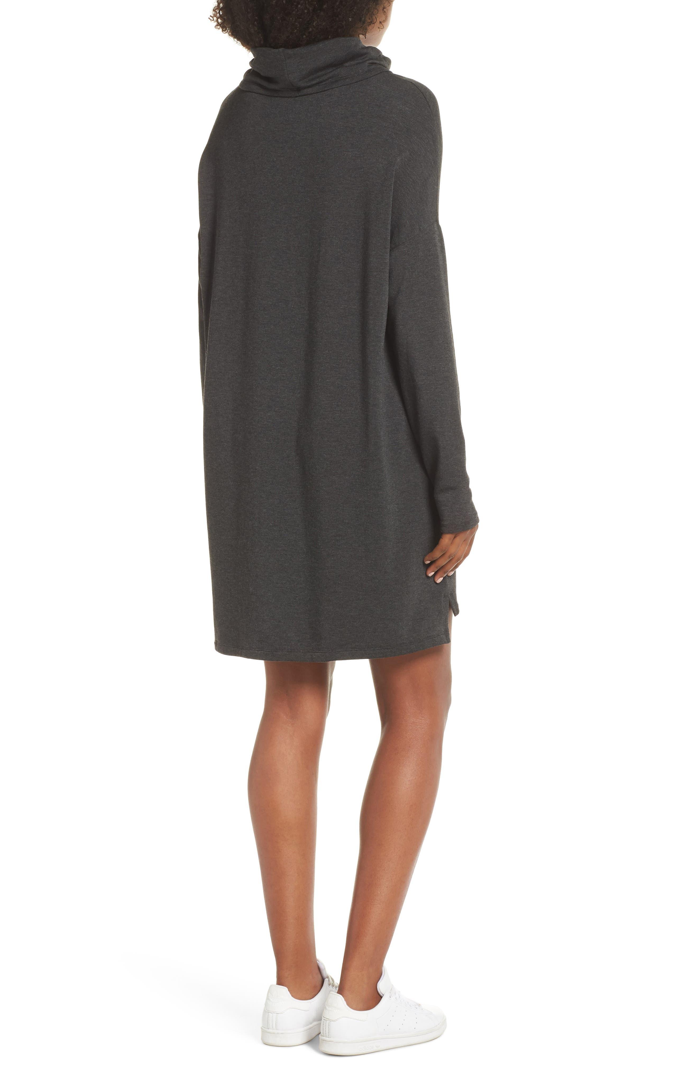 ,                             Cowl Neck Dress,                             Alternate thumbnail 2, color,                             020