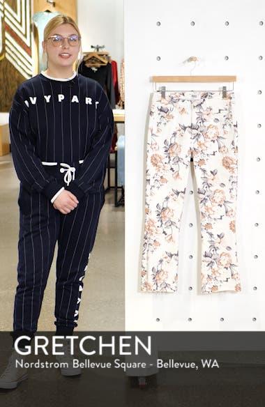 Colette High Waist Crop Flare Jeans, sales video thumbnail