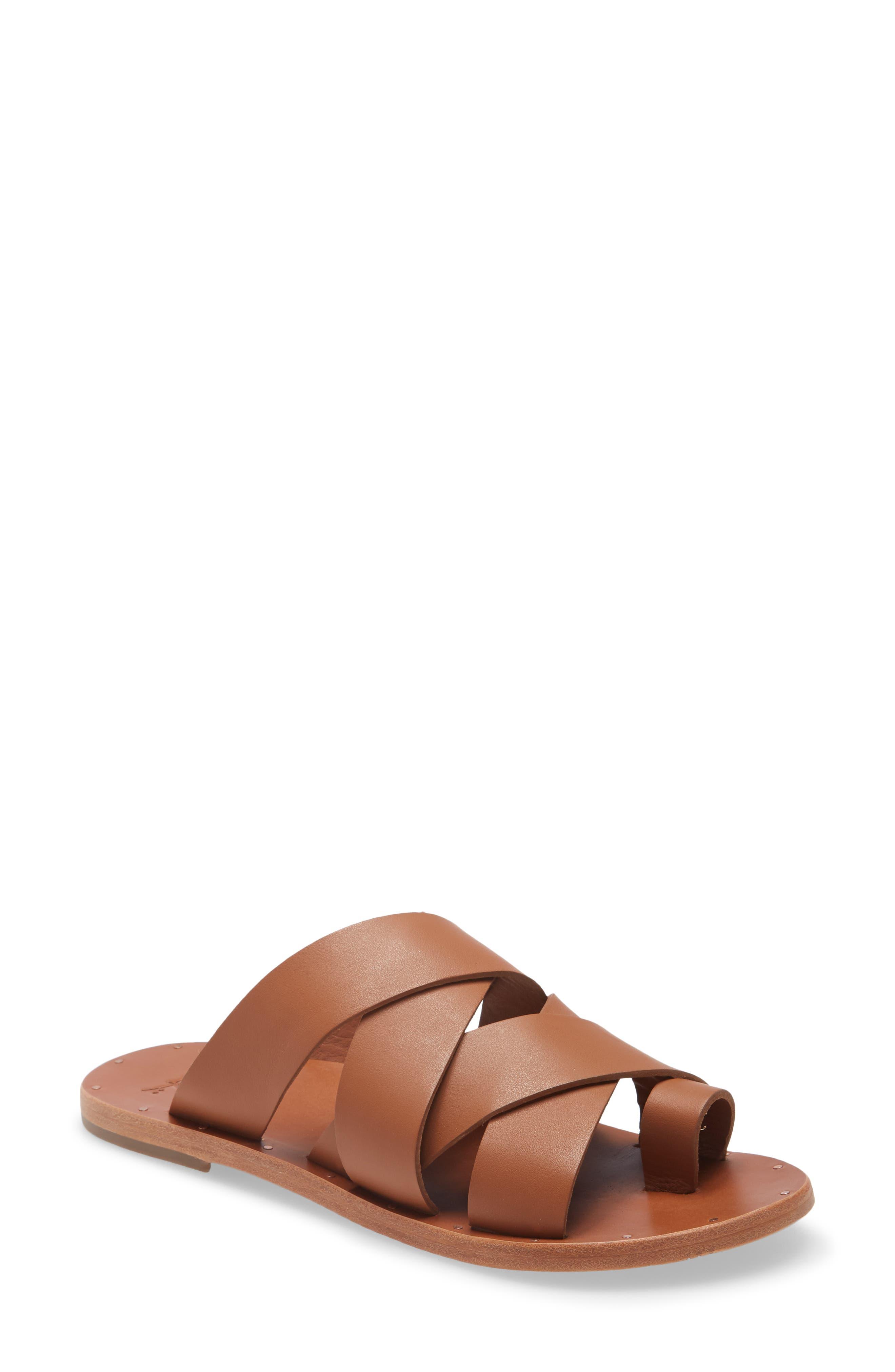 Weaver Toe Loop Sandal