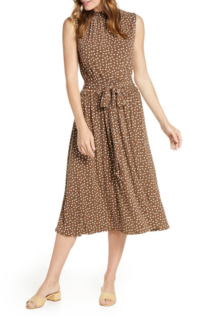 LEOTA Mindy Shirred Midi Dress, Main, color, 241