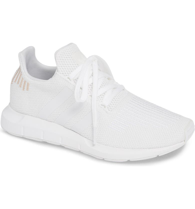 ADIDAS Swift Run Sneaker, Main, color, WHITE/ CRYSTAL WHITE/ WHITE