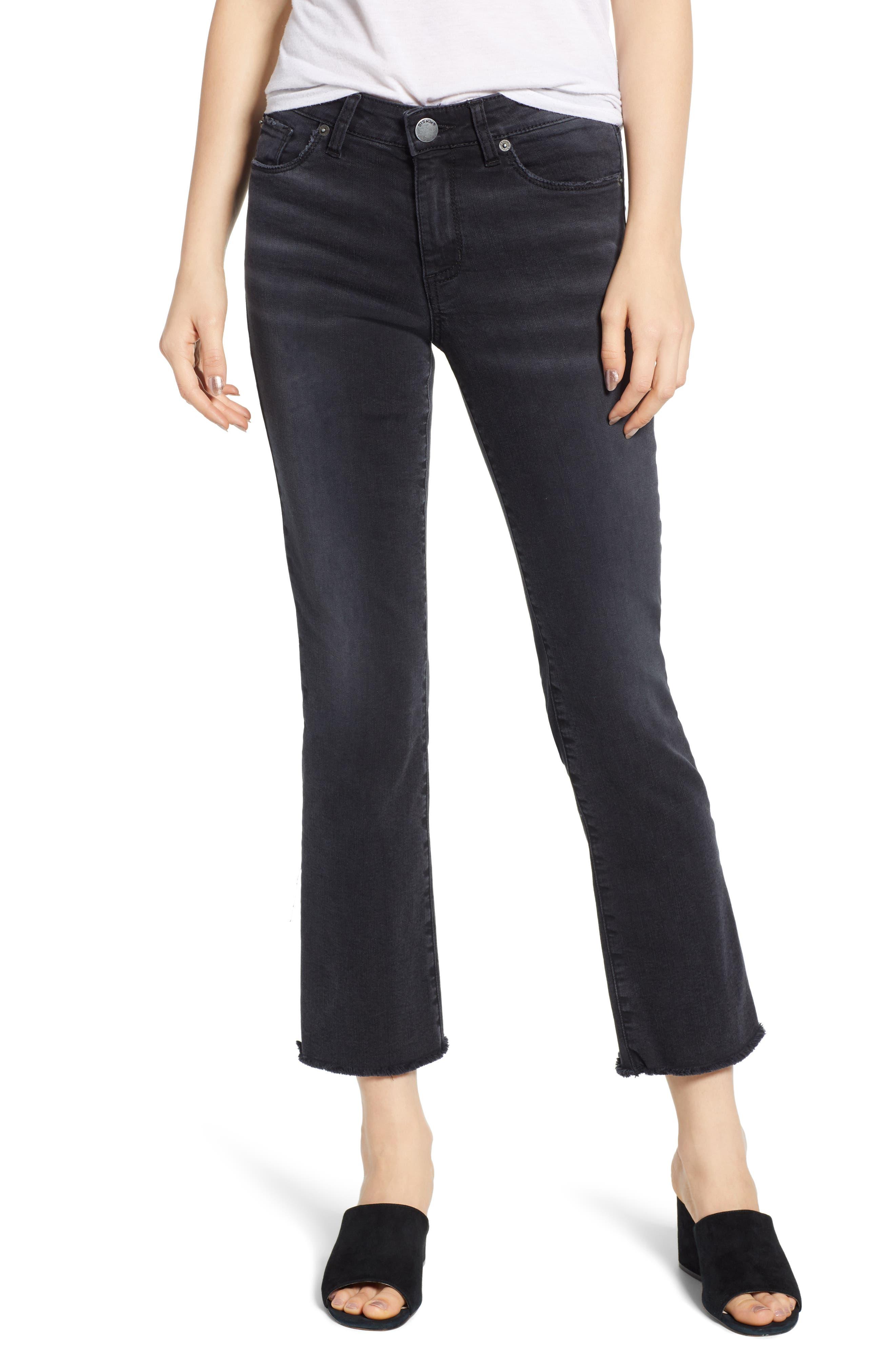 STS Blue High Waist Crop Flare Jeans (Birdvale)