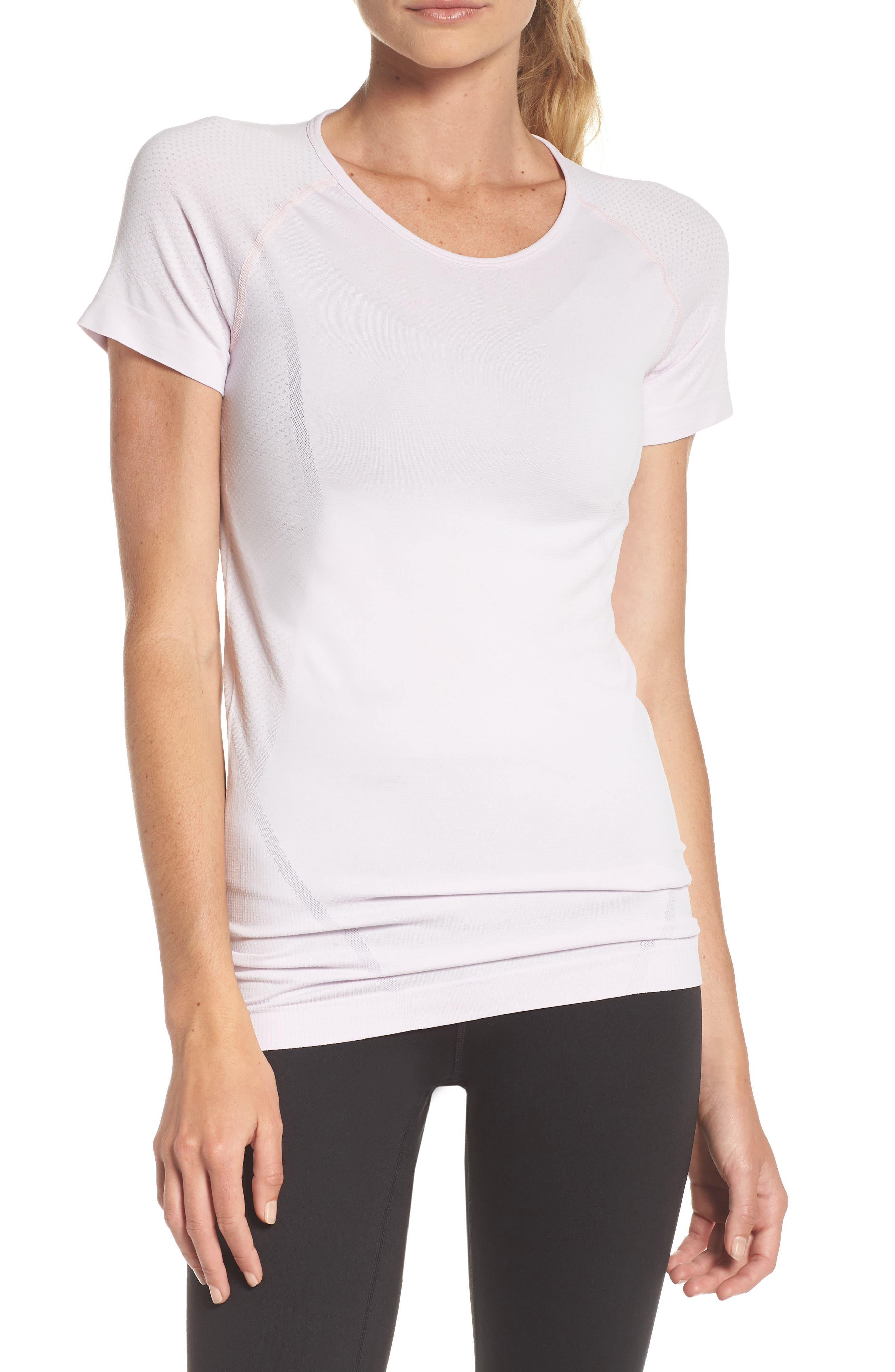 ,                             Stand Out Seamless Training Tee,                             Main thumbnail 32, color,                             530