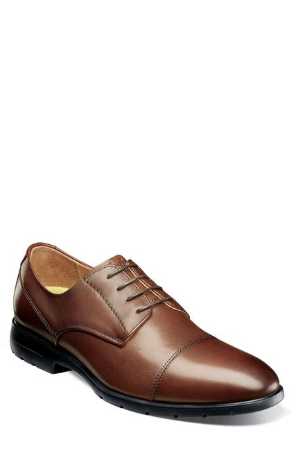 Image of Florsheim Westside Cap Toe Derby - Wide Width Available