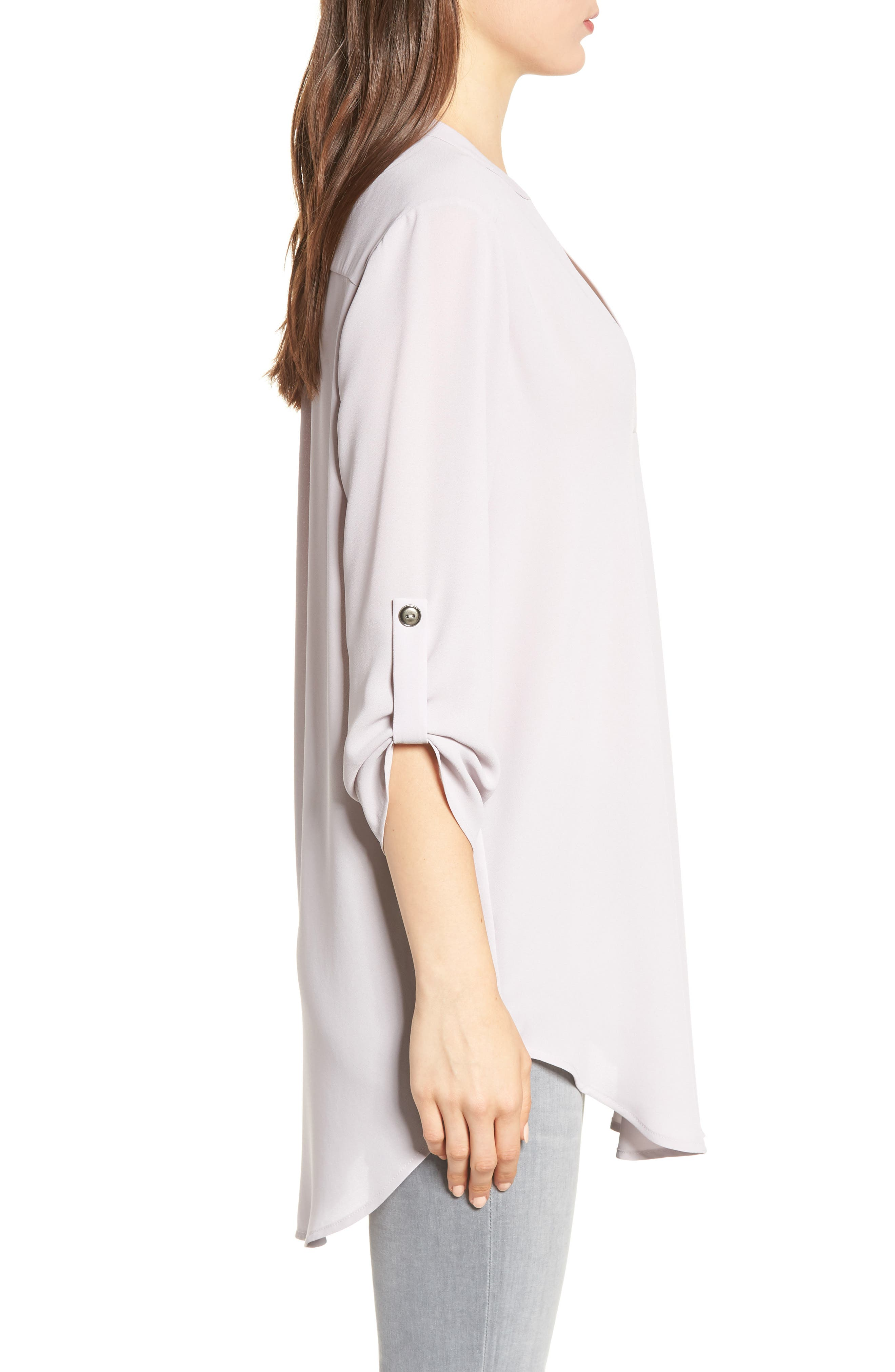 ,                             Perfect Roll Tab Sleeve Tunic,                             Alternate thumbnail 26, color,                             025