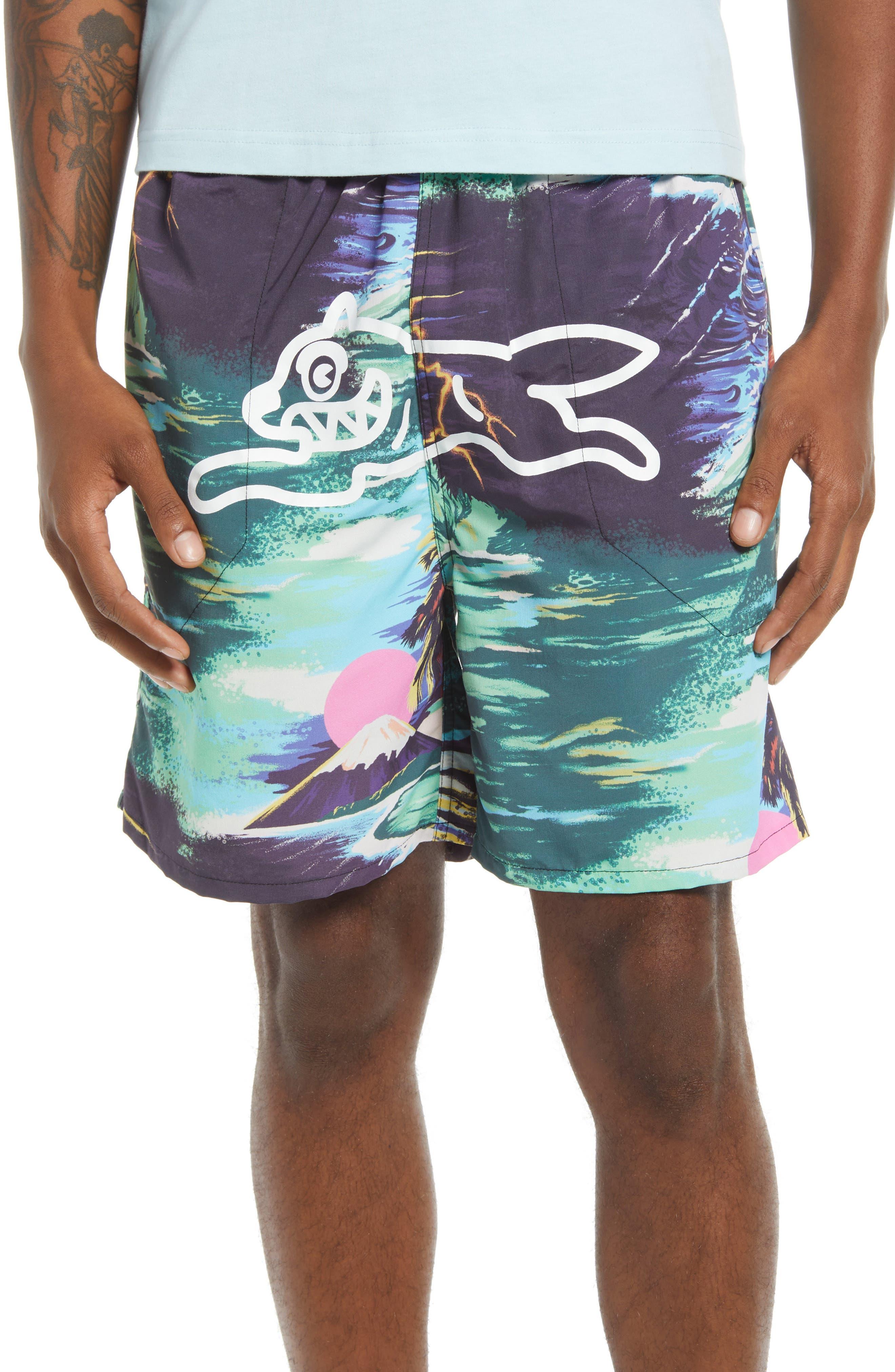 Guam Print Shorts